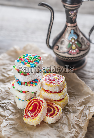 heap of turkish delight