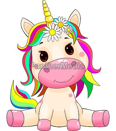 cute unicorn baby
