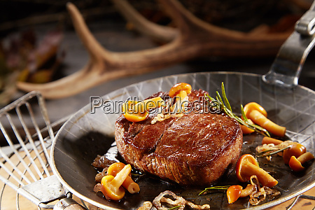 gourmet thick marinated grilled wild venison