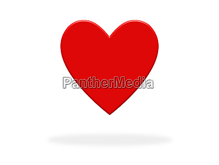 heart icon with red color