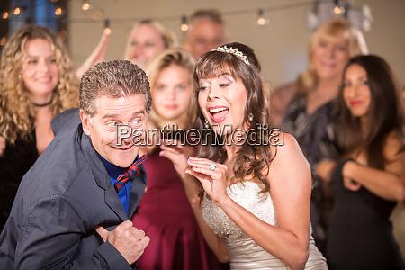 silly wedding dance