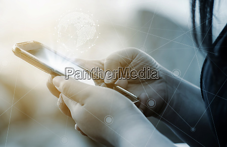 networking people and social network and