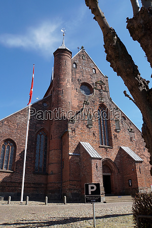 cathedral in haderslev church of mary