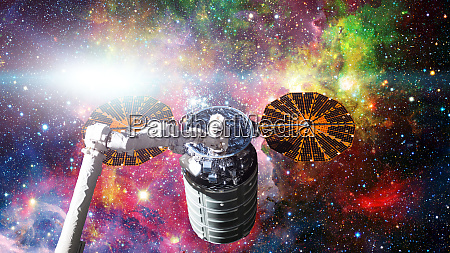 spacecraft launch into space elements of