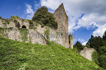 historic castle ruin