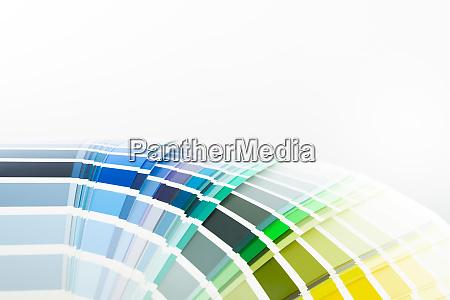 color sample palette renovation and
