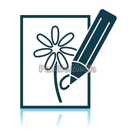 sketch with pencil icon