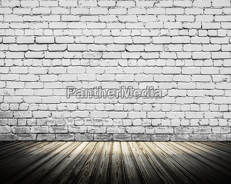 interior old wall 3d rendering