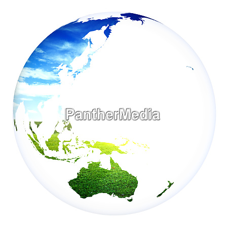 world concept planet earth 3d rendering