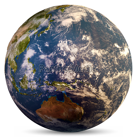 planet earth map