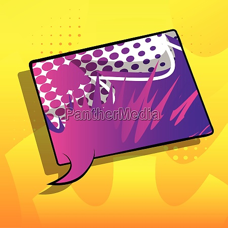 comic book background with big colorful