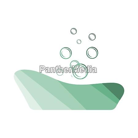 baby bathtube icon