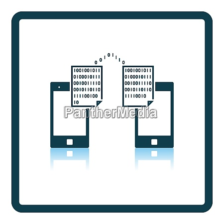 exchanging data icon