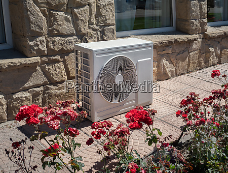 air conditioner and heat pump outdoor
