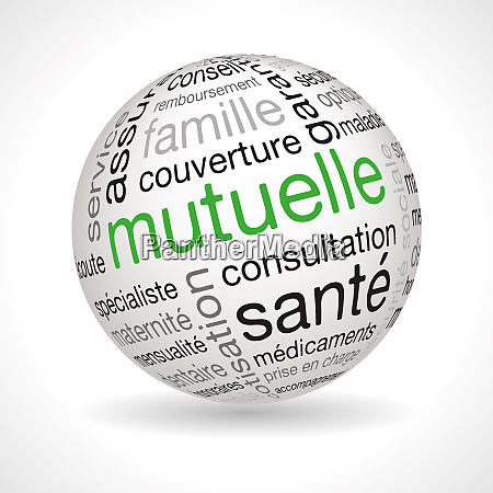 french mutual theme sphere with keywords