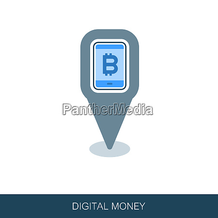 mobile bitcoin business app pin map