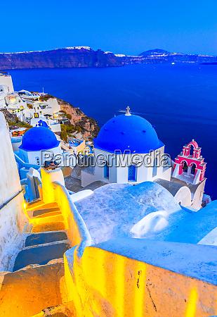 oia santorini island greece europe