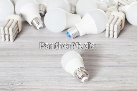 led bulb light and various energy