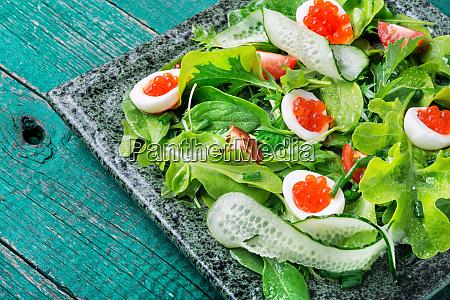 colorful fresh vegetable salad
