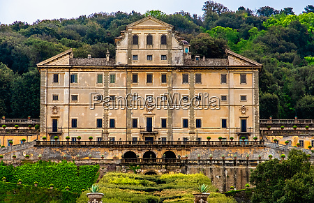 nobility historic palace in frascati