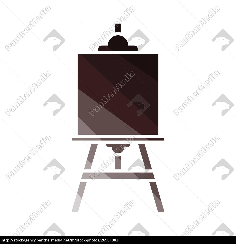 easel, icon - 26901083