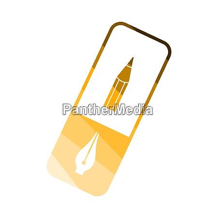 eraser, icon - 26901119