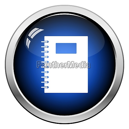 exercise, book, with, pen, icon - 26901169