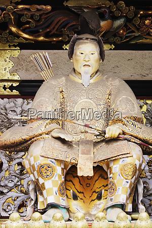 samurai warrior sculpture