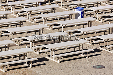 state fair seating area