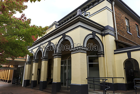 variety of heritage listed buildings in