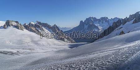mer de glace in mont blanc
