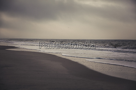 germany sylt kampen lonely beach sea