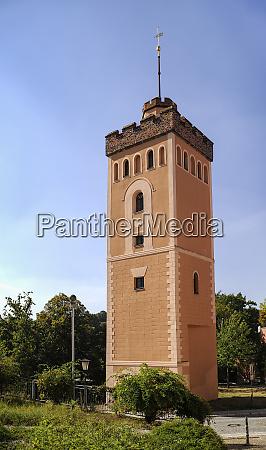 germany saxony kamenz red tower