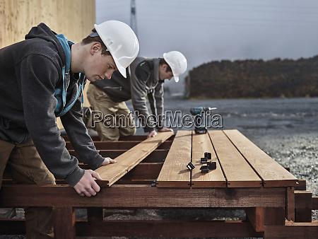 men flooring decking board