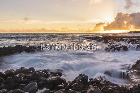 usa hawaii kauai pacific ocean south