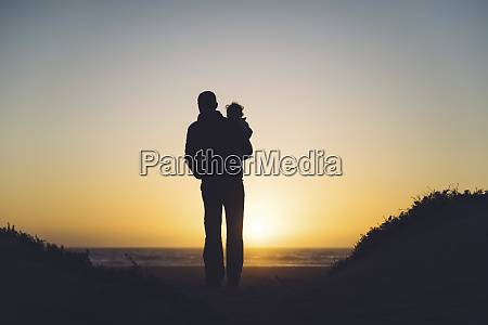 usa california morro bay silhouettes of
