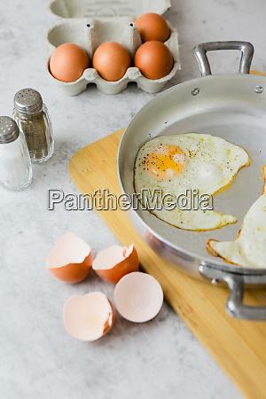 eggs in a box fried eggs