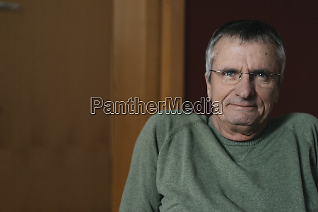 portrait of confident senior man at