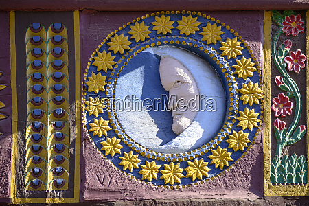 germany butzbach relief half moon with