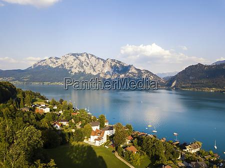 austria upper austria weyregg lake
