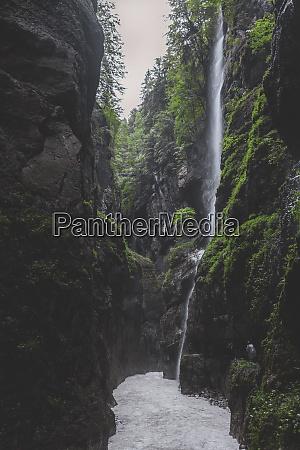 germany bavaria partnach gorge near garmisch