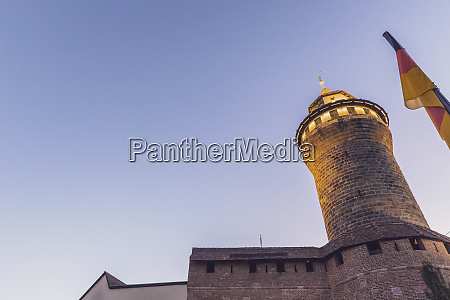 germany nuremberg nuremberg castle sinwell tower