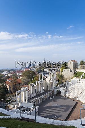 roman theatre of ancient philippopolis plovdiv