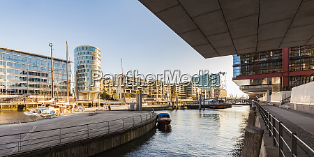 germany hamburg hafencity sandtorhafen and modern