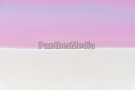 mexiko yucatan las coloradas pink lake