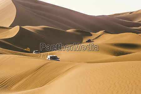 morocco desert off road vehicles on