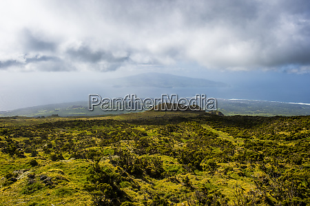 portugal azores island of pico view