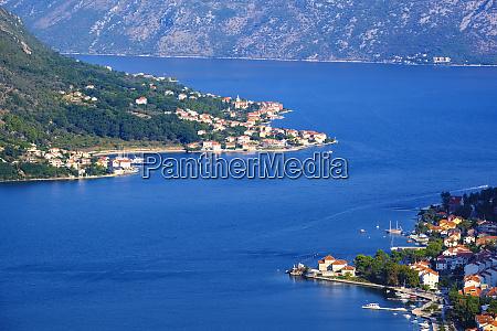 montenegro bay of kotor prcanj und