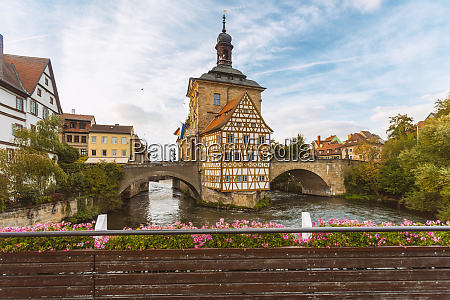 germany bavaria bamberg old town hall