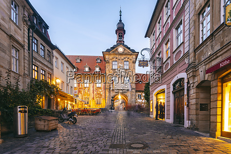 germany bavaria bamberg old town with